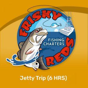 Galveston jetty fishing trip