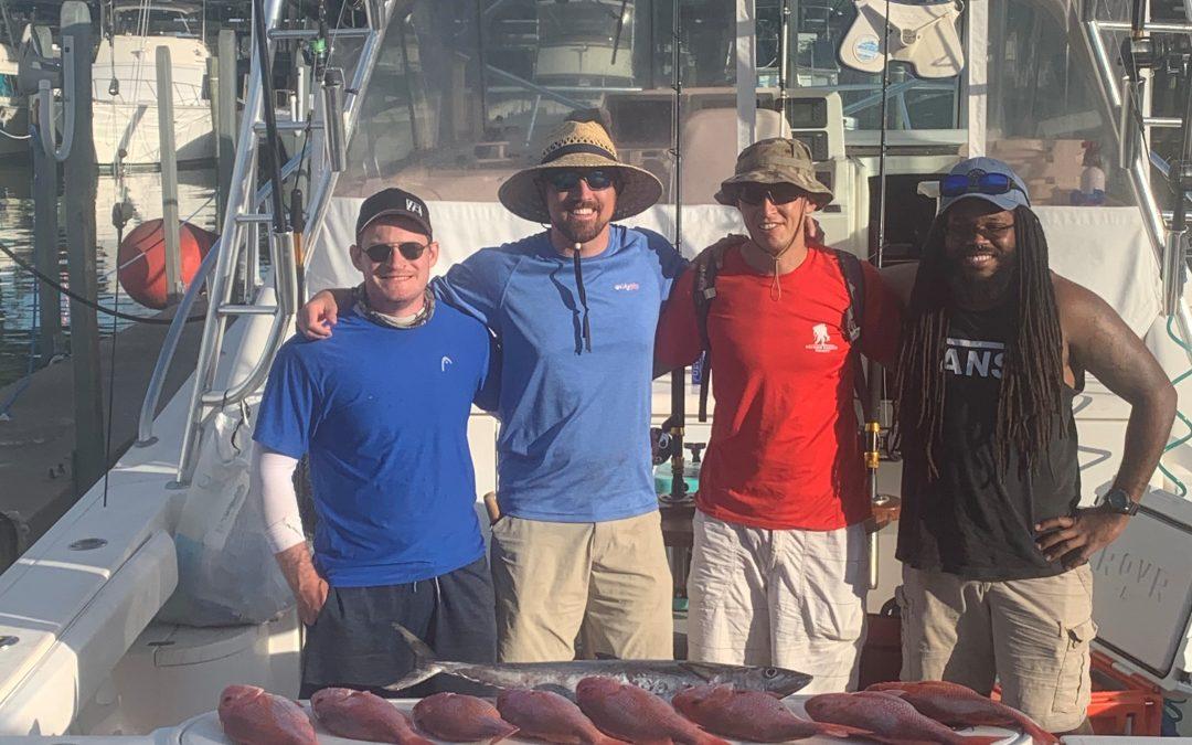Galveston snapper fishing trips
