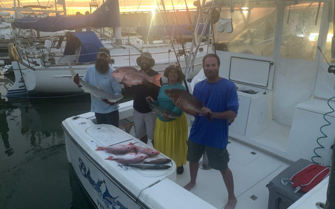 Fishing report 8-1-20