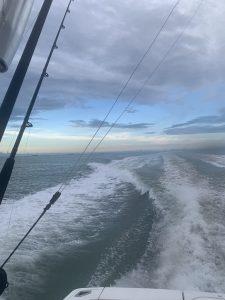 Offshore fishing in Galveston
