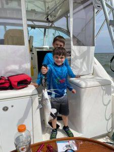 Kid friendly fishing Galveston