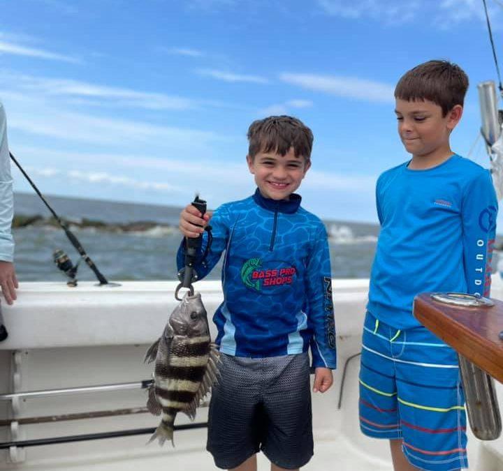 Take the Kids Fishing in Galveston!